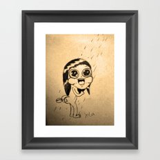 Duck fart Framed Art Print