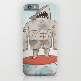 Surf Shark iPhone Case