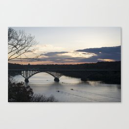 Boat House Row, Schuylkill River, PA Canvas Print