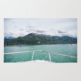 Cruising around Lake Annecy Rug