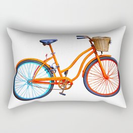 Old bicycle Rectangular Pillow