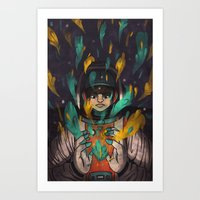 Monstrous Optimism Art Print