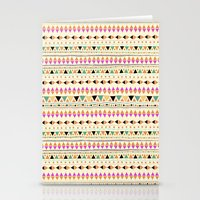 indie Stationery Cards featuring INDIE SUMMER by Nika