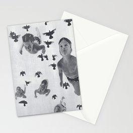Murmuration - collage  Stationery Cards