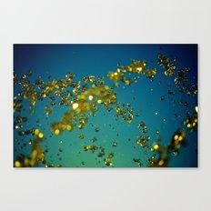 Drops of imagination Canvas Print