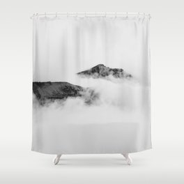 Mountains in the Clouds Shower Curtain