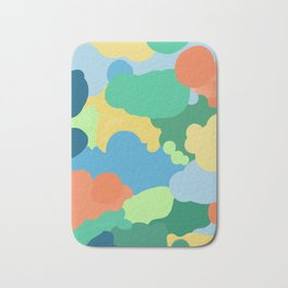 In the mind of color blind Bath Mat