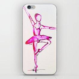 neon dancer iPhone Skin