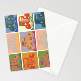 Pontiac 1935 9 times pop art style Stationery Cards