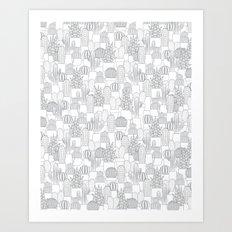 C13D Cacti Art Print
