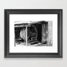 Machined Dream 08 Framed Art Print