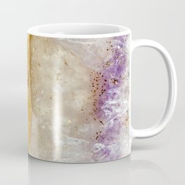 Striated Amethyst in Purple Gold & Green Coffee Mug