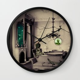 Ever Being, Always Seeing, Never Dying Wall Clock
