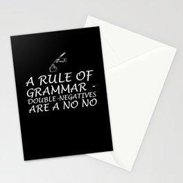 writer bookworm Design for a author Stationery Cards