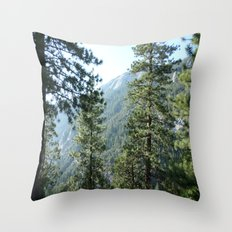 The Ancient Days Throw Pillow