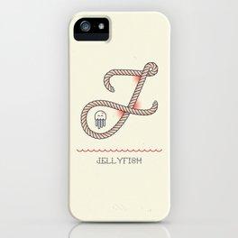 Ahoy! Letter J iPhone Case