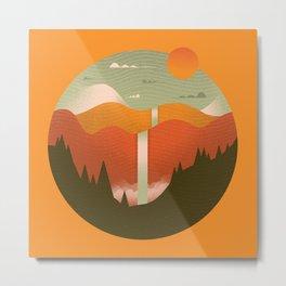 Landscape Series 6 Metal Print