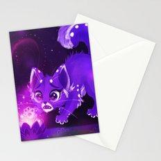Purple Lotus Stationery Cards