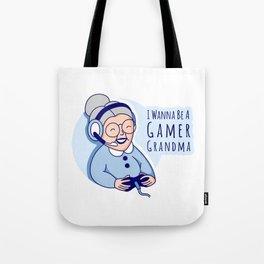 Gamer Grandma Tote Bag