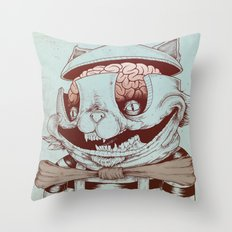Kitty Fun Throw Pillow