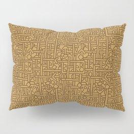 Ornament ethnic Pillow Sham