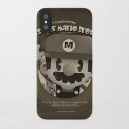 Mario Bros Fan Art iPhone Case