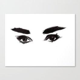 Audrey's eyes Canvas Print