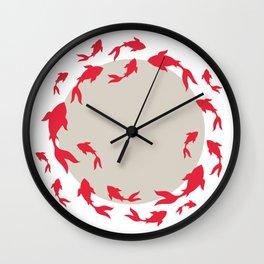 Koi-koi fish Wall Clock
