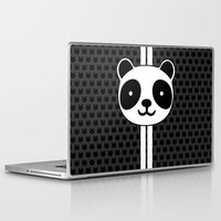 racing Laptop & iPad Skins featuring Racing Panda by XOOXOO