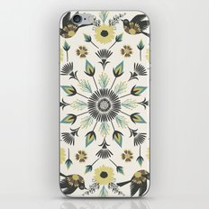 Blackbird Floral Mandala iPhone & iPod Skin