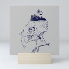 Head Of Her Crown. Mini Art Print