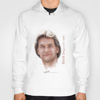 patrick Hoodies featuring Patrick Swayze by Tribute Portrait