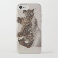andreas preis iPhone & iPod Cases featuring Lynx by Andreas Lie