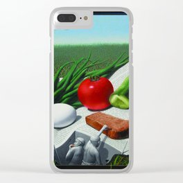 Perfect snack Clear iPhone Case