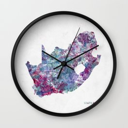 South Africa Wall Clock