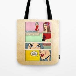 Retro Comic Tote Bag