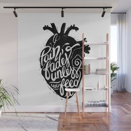 Typo Pain Wall Mural