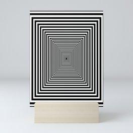 Down the Rabbit Hole Mini Art Print