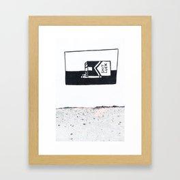 shit luck I Framed Art Print