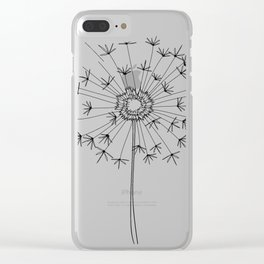 pick me Clear iPhone Case