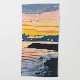 Encinal Beach Beach Towel