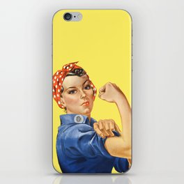 We Can Do It - Rosie the Riveter Poster iPhone Skin