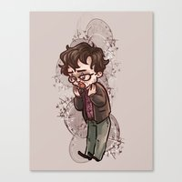 will graham Canvas Prints featuring will graham by krakenface