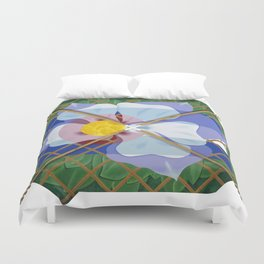 Altered State Flower: CO Duvet Cover