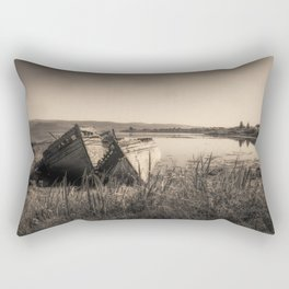The Old Fishing Boats Rectangular Pillow