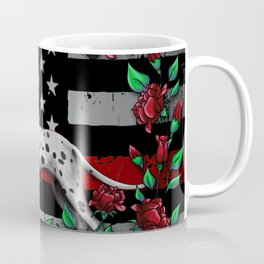 Thin Red Line USA Version Coffee Mug