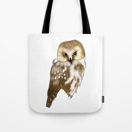 Woodland Creatures Series: Owl Tote Bag