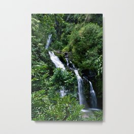 Hello Waterfalls Metal Print
