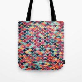 Colorful Geometric Pattern #07 Tote Bag