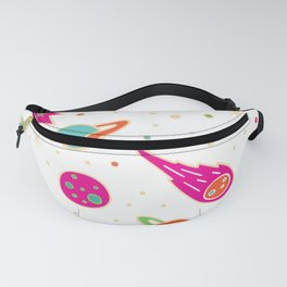 Planets in the sky Fanny Pack
